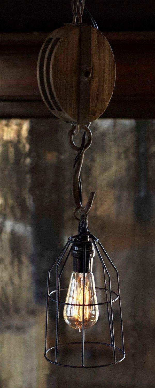 Photo of DIY industrielle Eisenrohrlampen