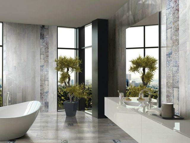 Fliesenmuster fürs Bad \u2013 25 Designs mit italienischem Flair - badezimmer fliesen muster