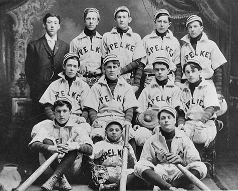 Spelke Baseball Team 1905 Stamford Ct There Is A Hoyt 2nd From Left To Row American Ancestry Historical Society Baseball Team