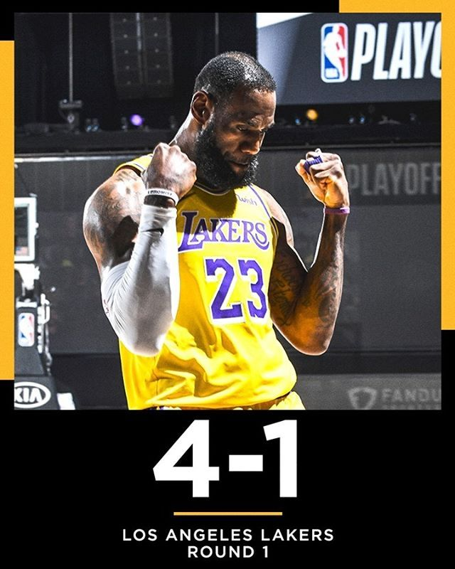 Nba On Espn On Instagram First Playoff Series Win Since 2012 For The Lake Show In 2020 Los Angeles Lakers Espn Lakers