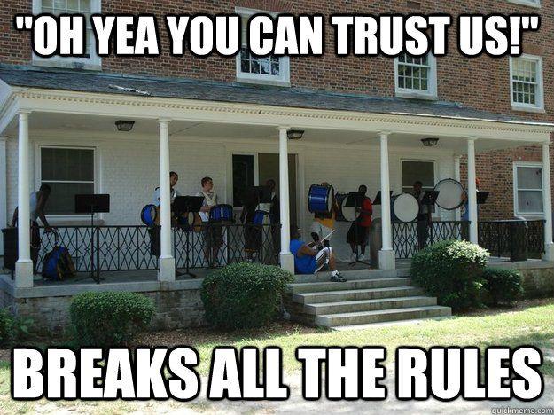 558be223f60cb94da919063d88b159b0 drumline scumbag drumline memes quickmeme band things