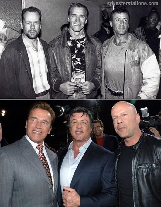 #Arnold Schwarzenegger #Sylvester Stallone #Bruce Willis ...  #Arnold Schwarz...