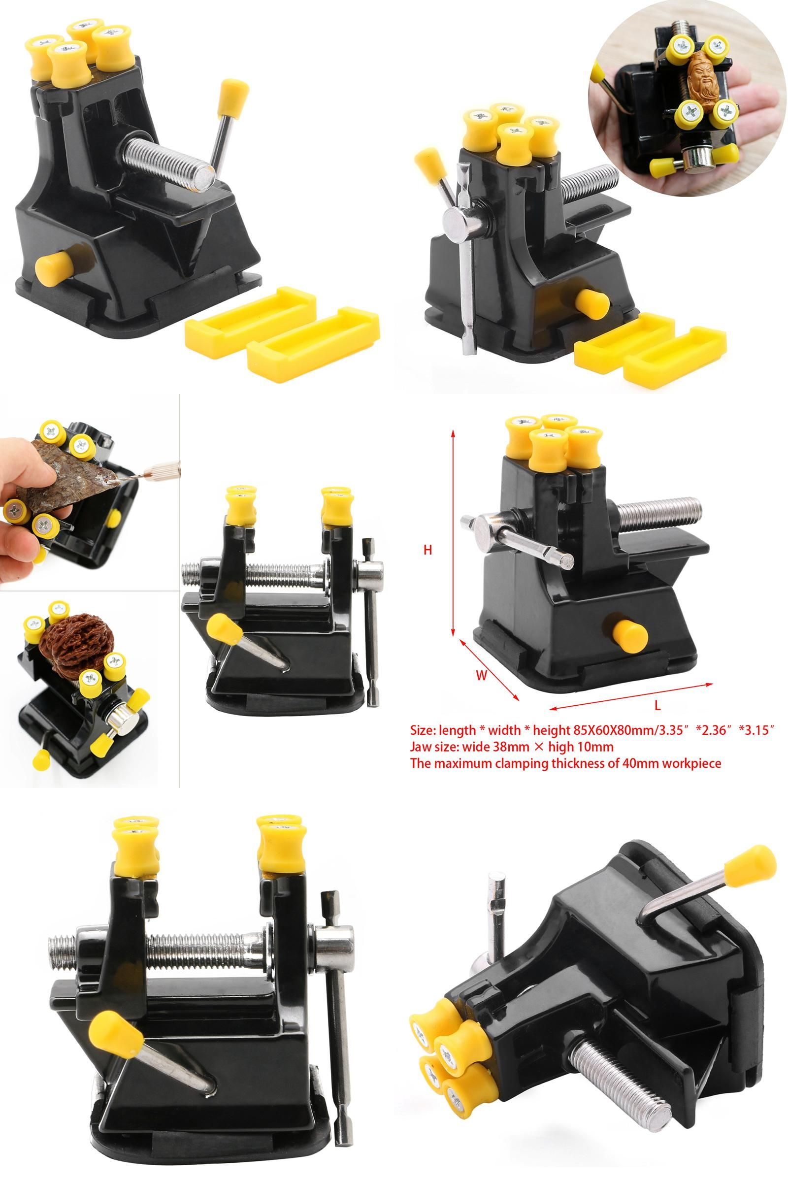 Mould Clamp Bench Suction Hand Tool Fixed Tool Grip Vise Jewelry Repair Tool