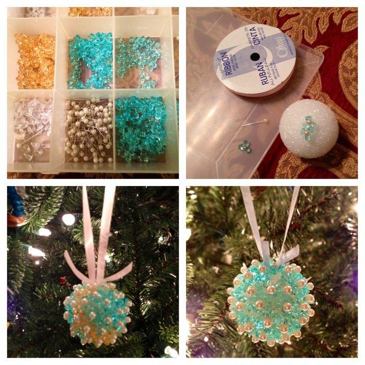 Styrofoam Ornament Ideas Make Your Own Beautiful Christmas