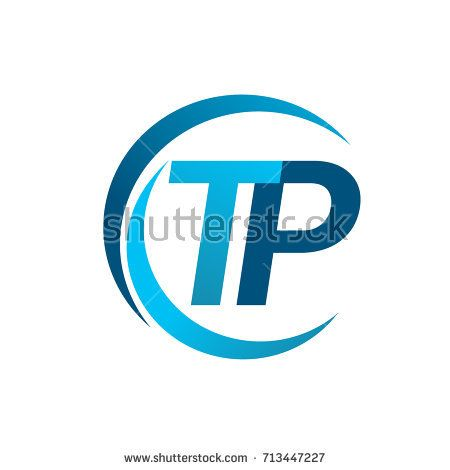 initial letter tp logotype company name blue circle and swoosh rh pinterest com swoosh logo meaning swoosh logos answers