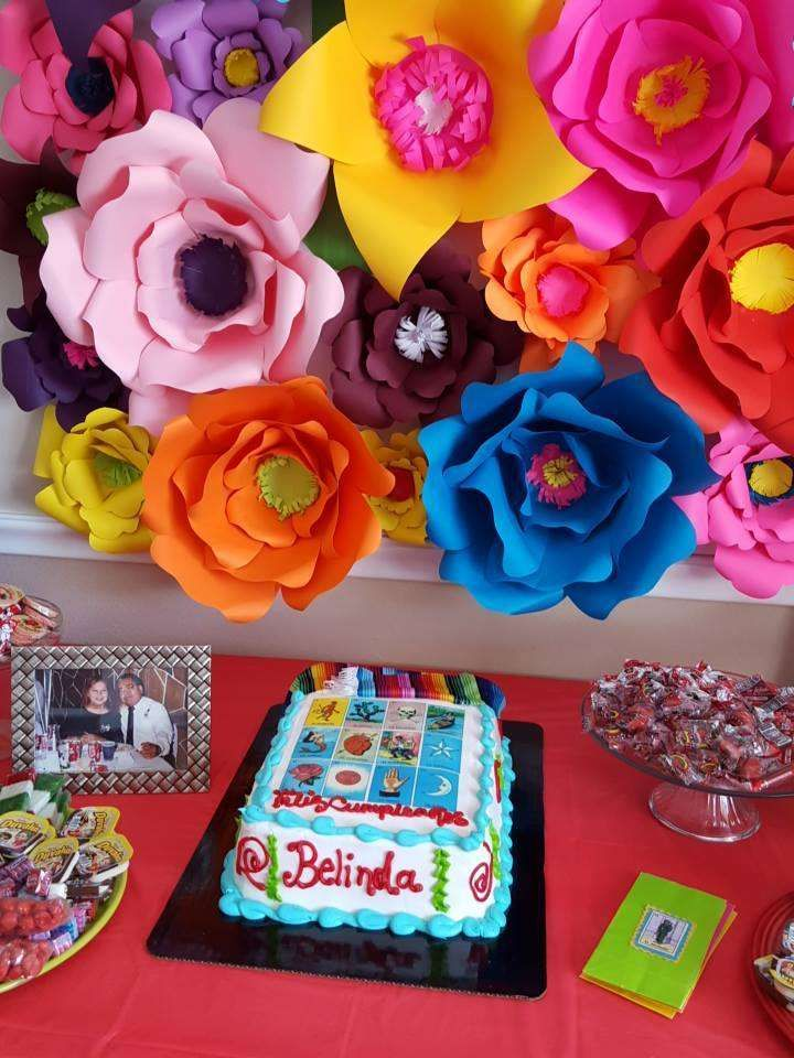 Loteria mexican birthday party ideas mexican fiesta for Mexican party decorations