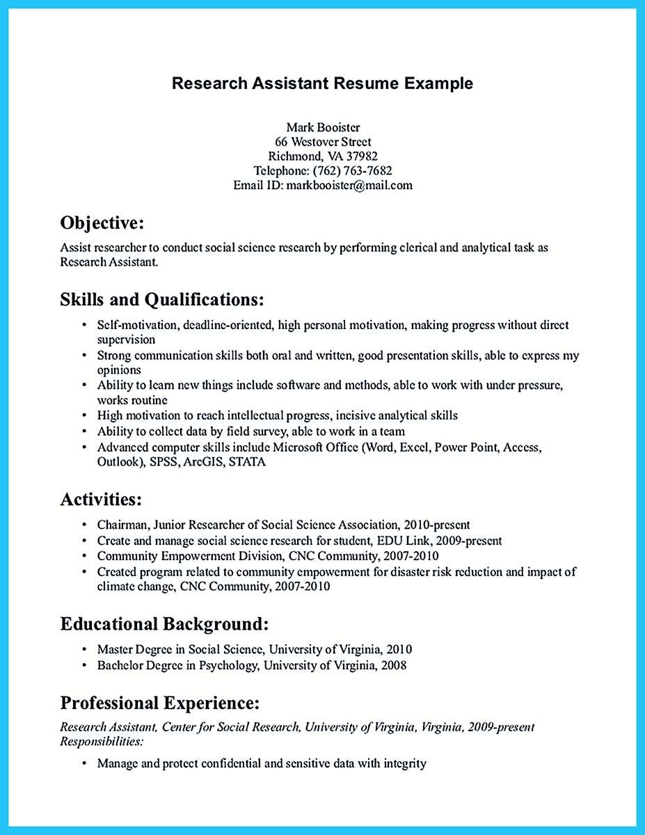 Writing Your Assistant Resume Carefully Cover letter for