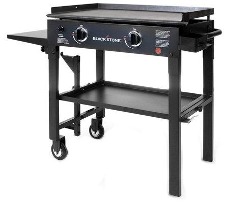 """Blackstone 2-Burner 28"""" Griddle Classic Black Cooking ..."""