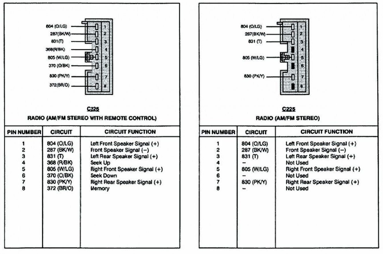 17 Great Ideas Of Ford Factory Amplifier Wiring Diagram Technique   S     Bacamajalah Com  17