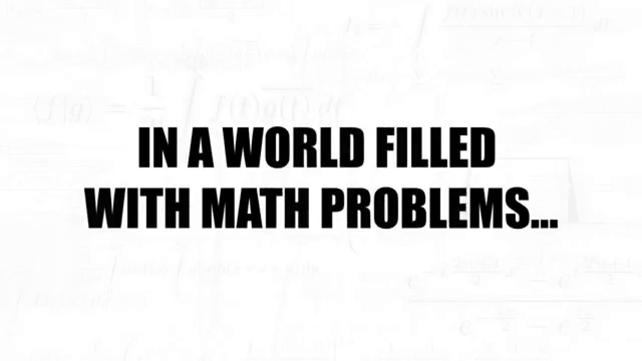 In a world filled with math problems... Mathway offers a quick and ...