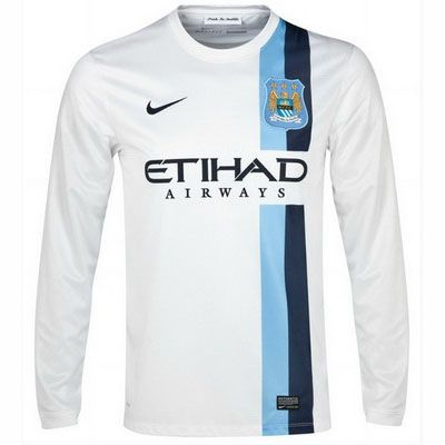 Camiseta Manchester City manga larga