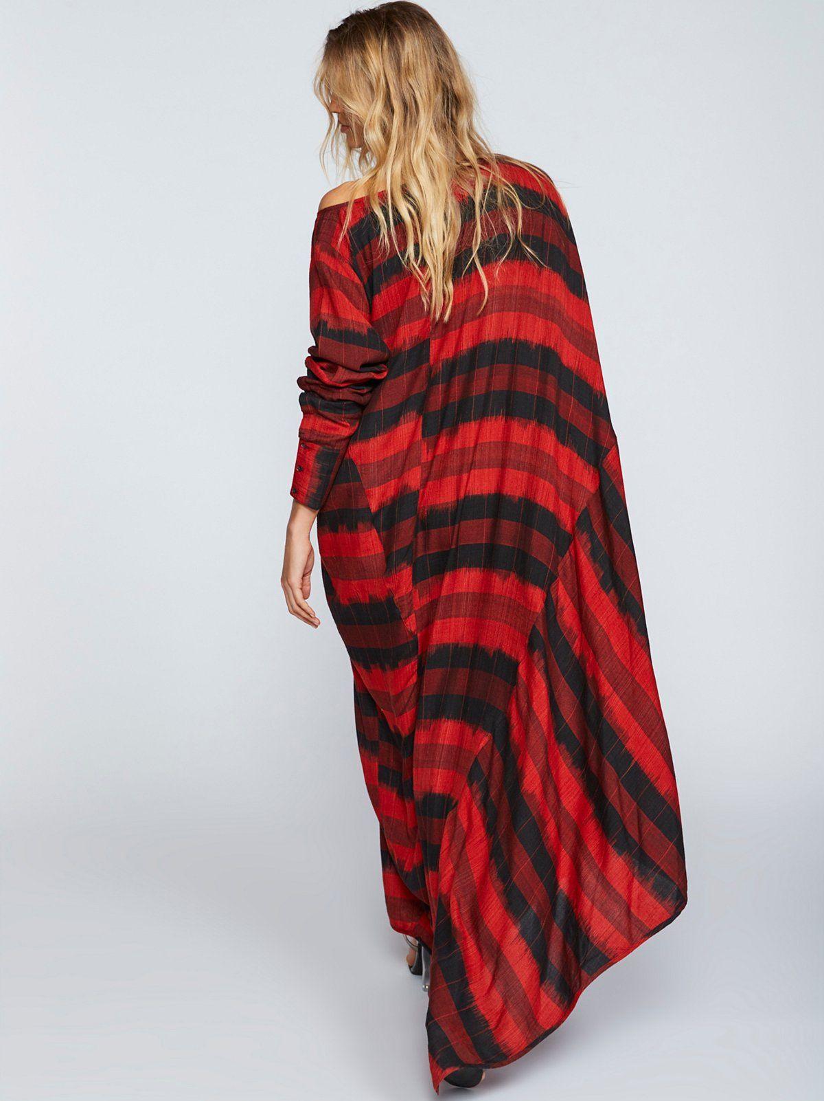 Santo ikat dress ultra oversized printed dress with an