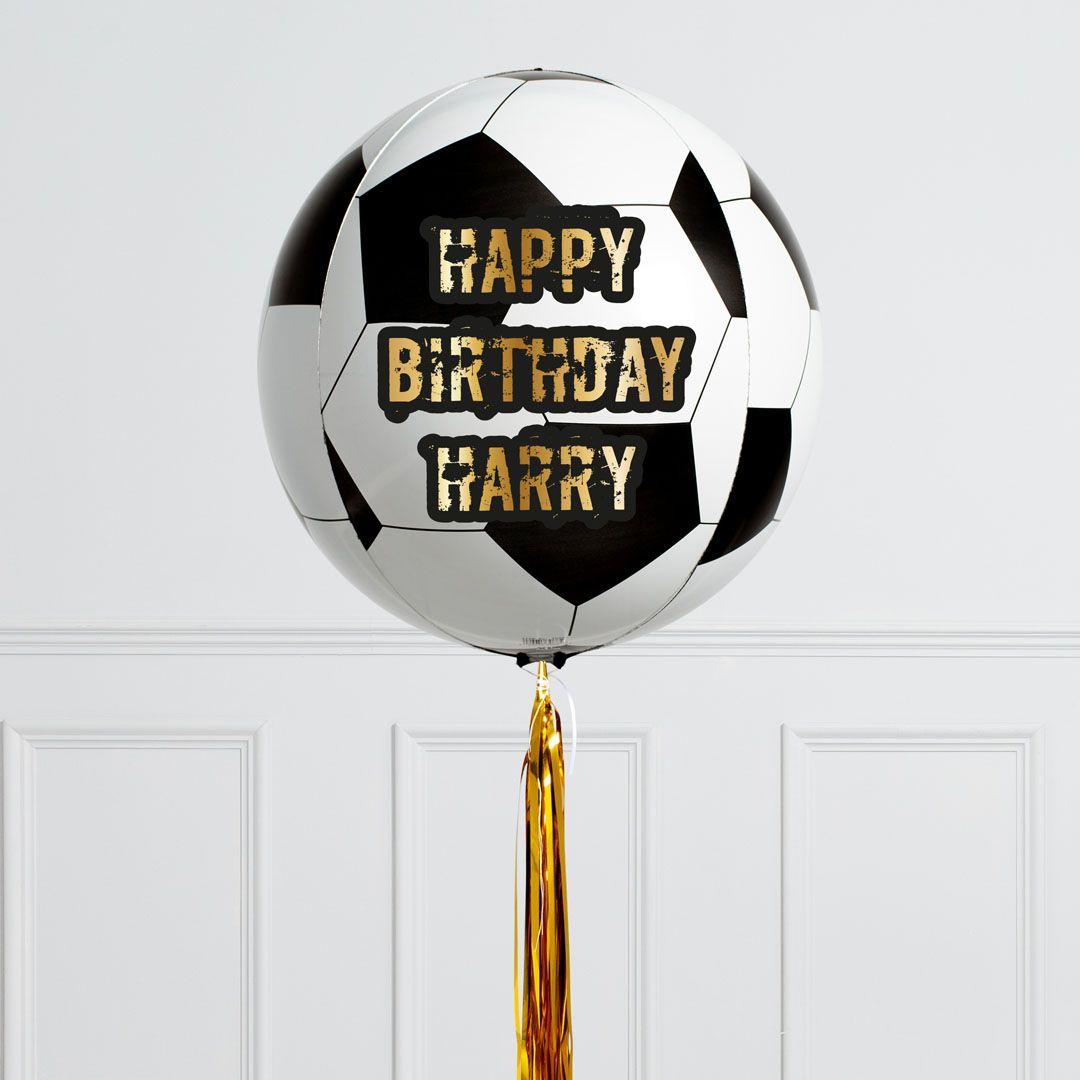 Football party balloons helium balloons football party
