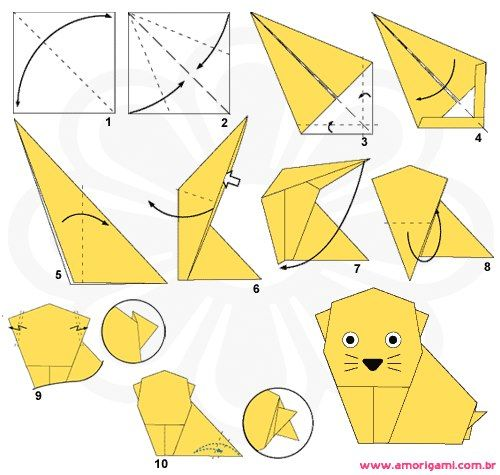 easy origami - Google Search | school | Origami, Useful origami