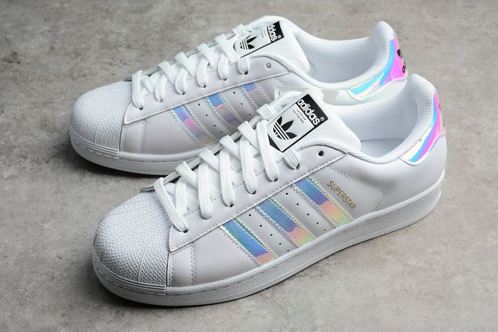 a954488d83dab Legit Cheap Adidas Superstar Super Bowl Iridescent White Blue AQ6278