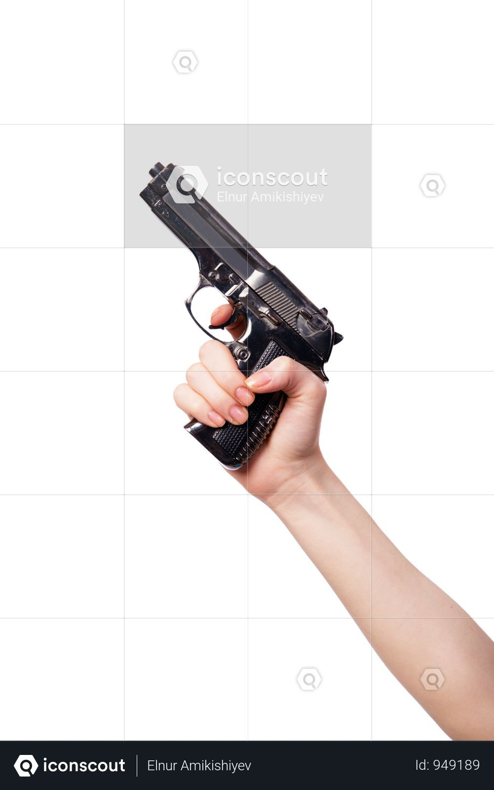 Pistol Scope With Hands Png Image Pistol Png Images Png