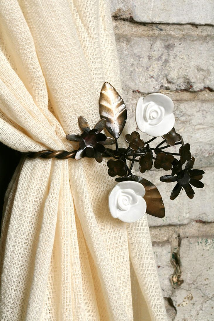 Garden Party Curtain TieBack My Style Pinterest Curtain ties