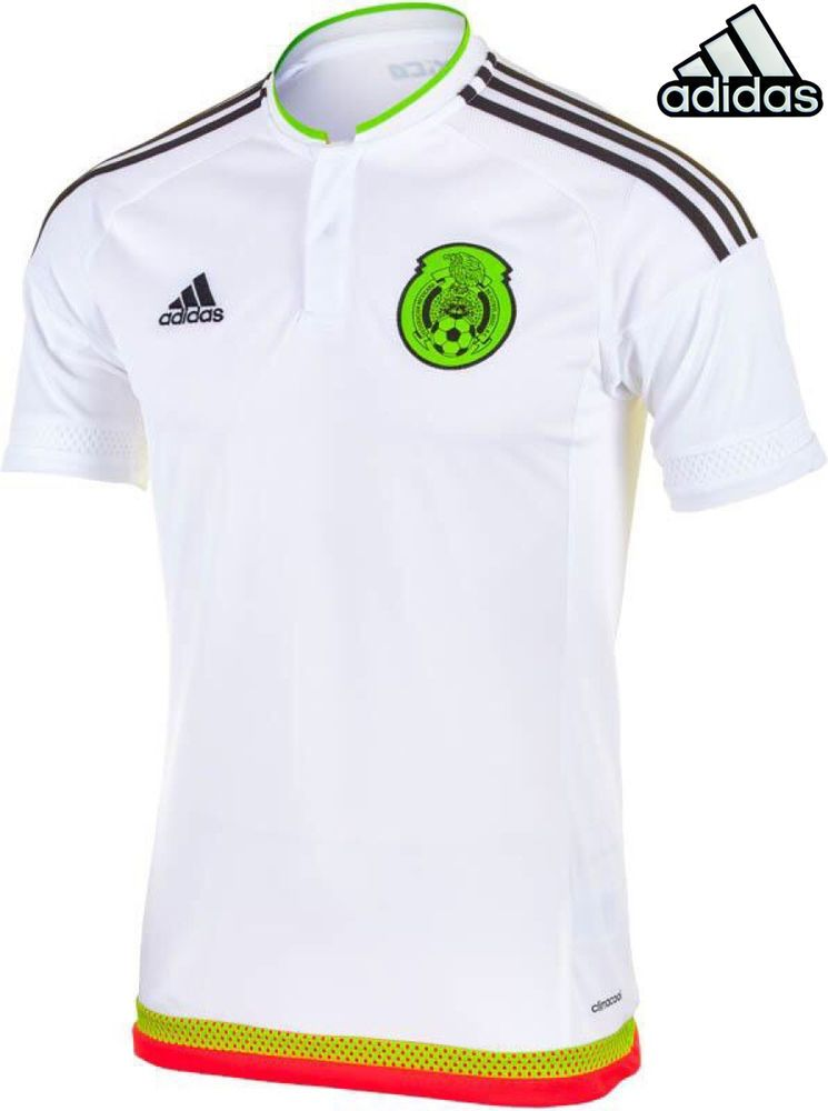 Copa New Soccer Adidas Mexico 2015 S White Jersey Size Football zHnqT7w