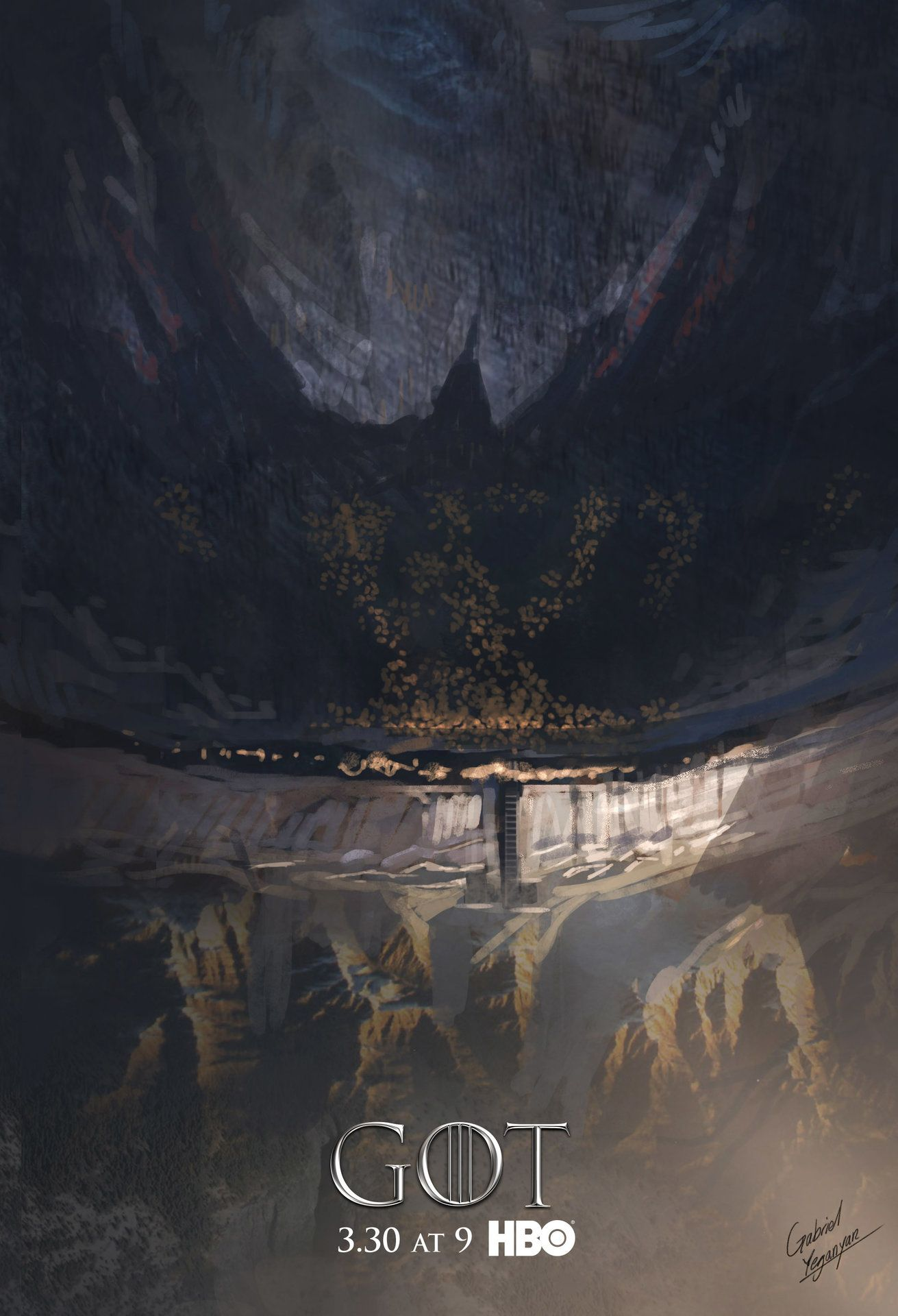 Concepts For Hbo S Game Of Thrones Season 4 Cover By Gabriel