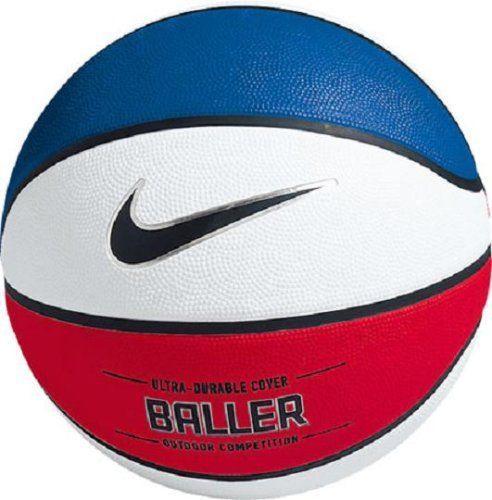 half off 50e4a 6e538 NIKE BASKETBALLL BALL   Nike Baller Basketball – Red   White   Blue