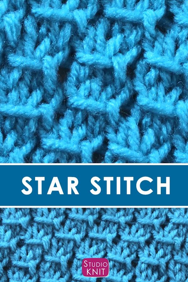 Photo of The Star Stitch (Knitting Pattern)