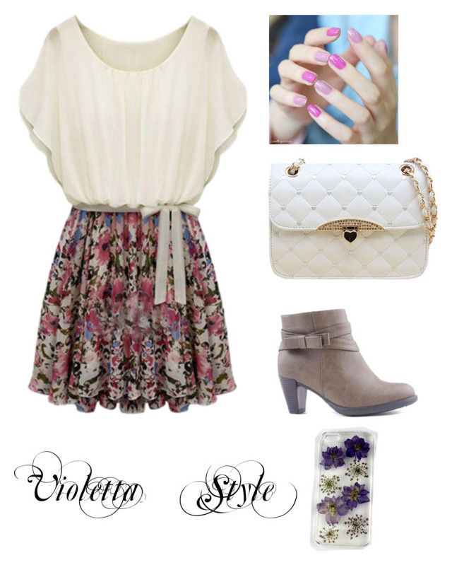 Violetta Style By Chloeexb On Polyvore Featuring