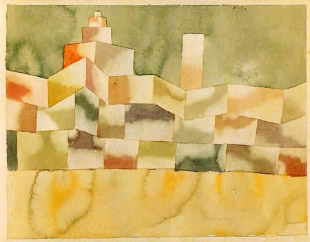 Paul Klee Architektur Im Orient Paul Klee Art Abstrait