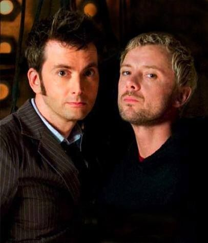 The 10th Doctor and the Master.
