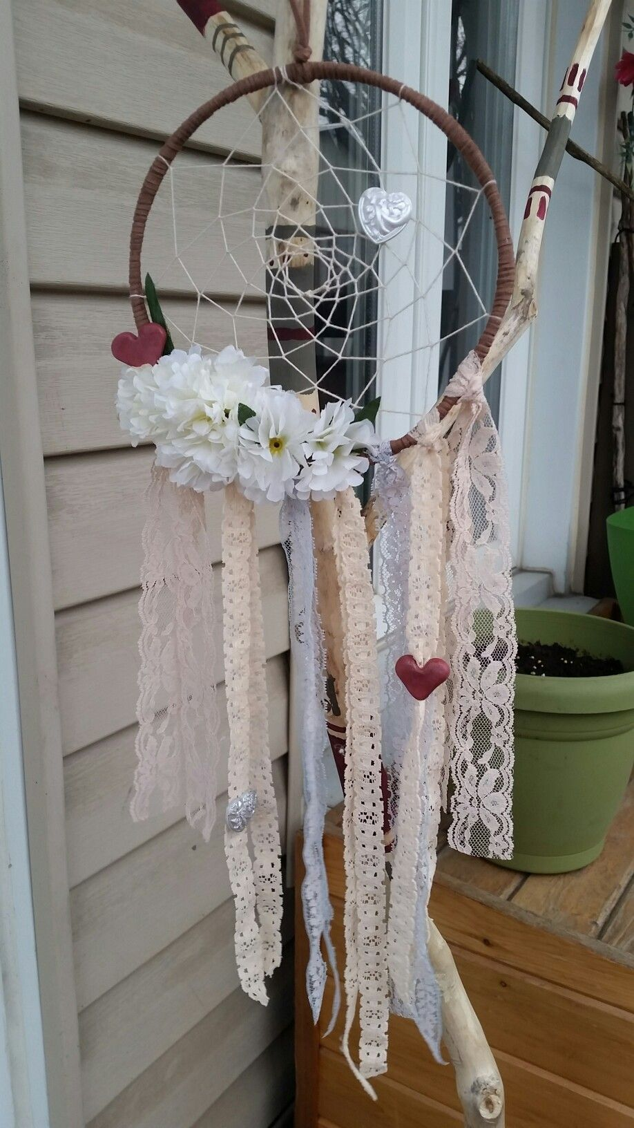 Beautifull wedding dreamcatcher by FraisesKiwis