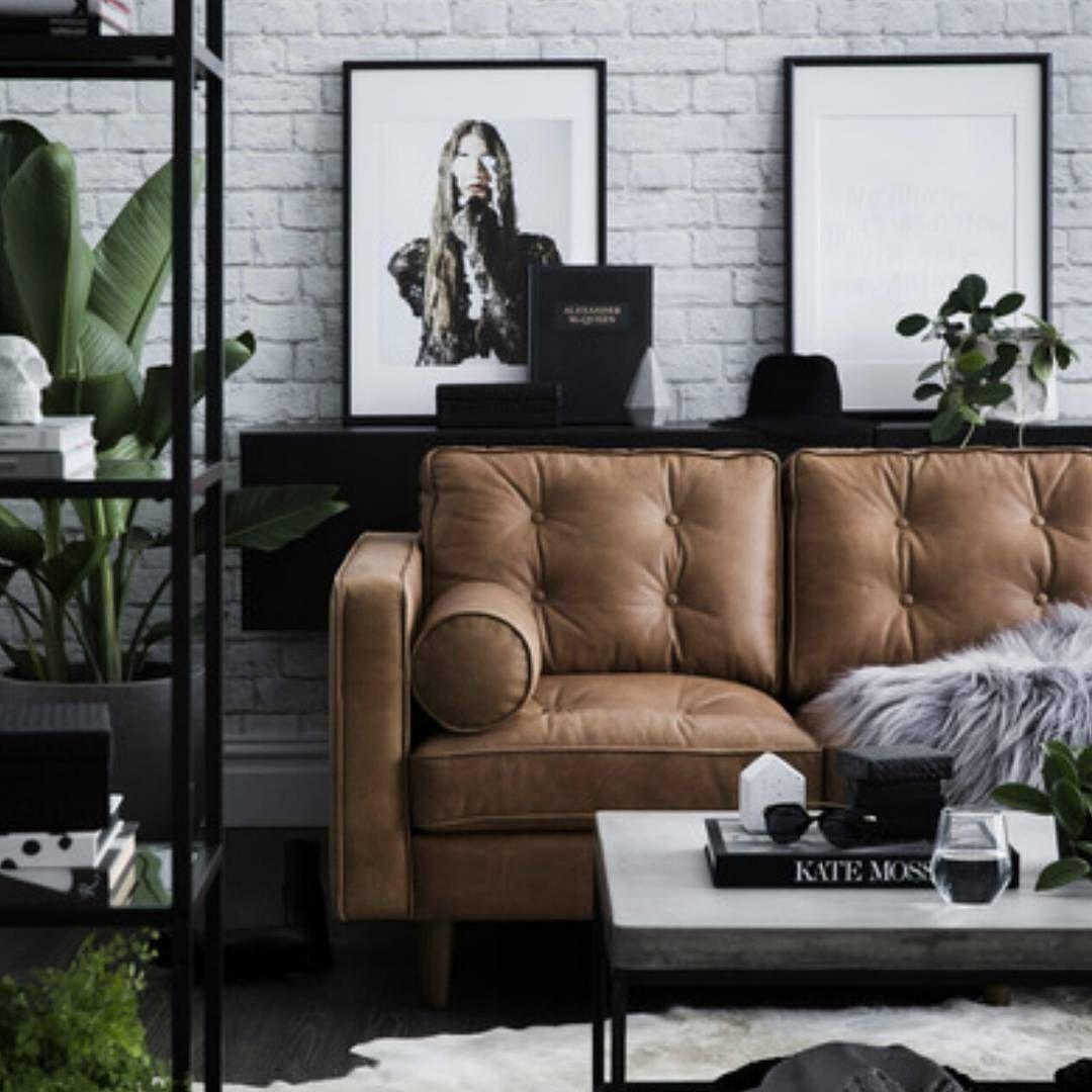 corina koch sydney interior stylist tan leather sofa modern home decor with mid century modern flair rooms inn the house