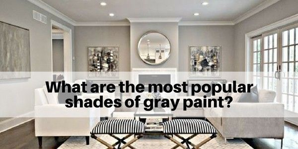 what are the most popular shades of gray paint shades on best interior wall paint colors id=43706