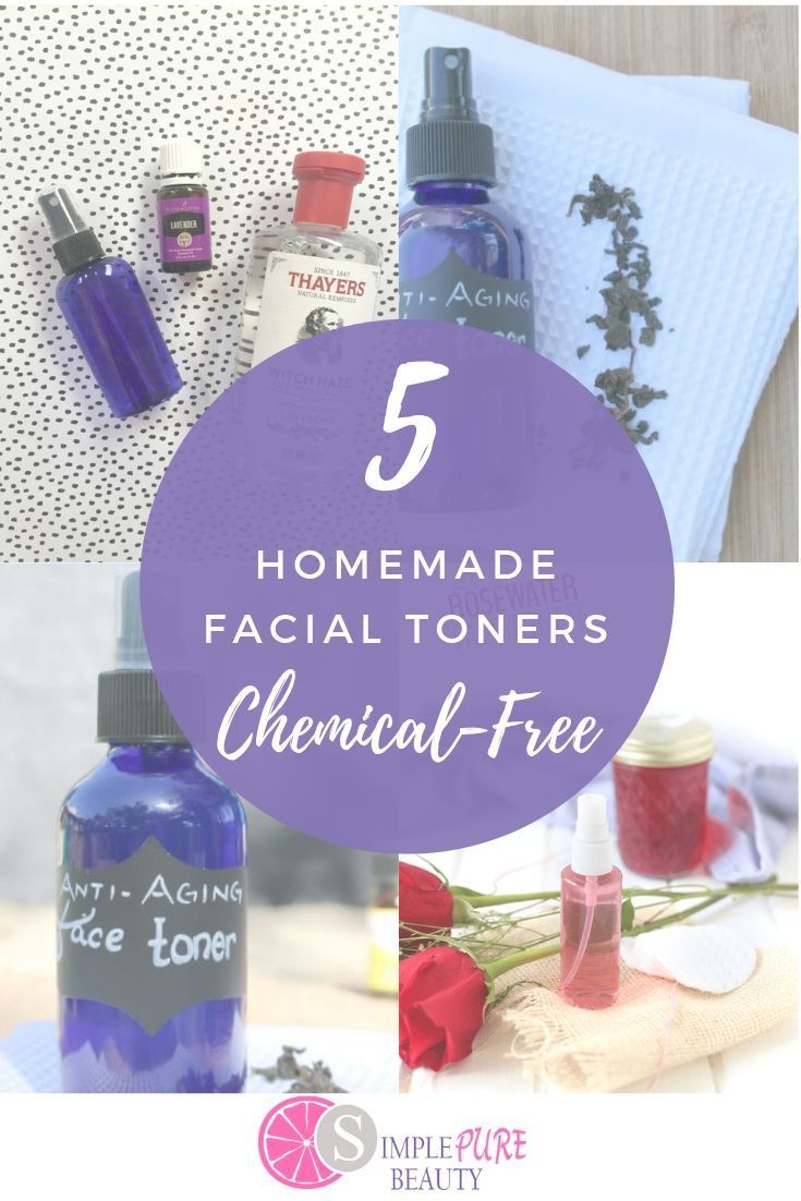 5 Easy Homemade Face Toner Recipes