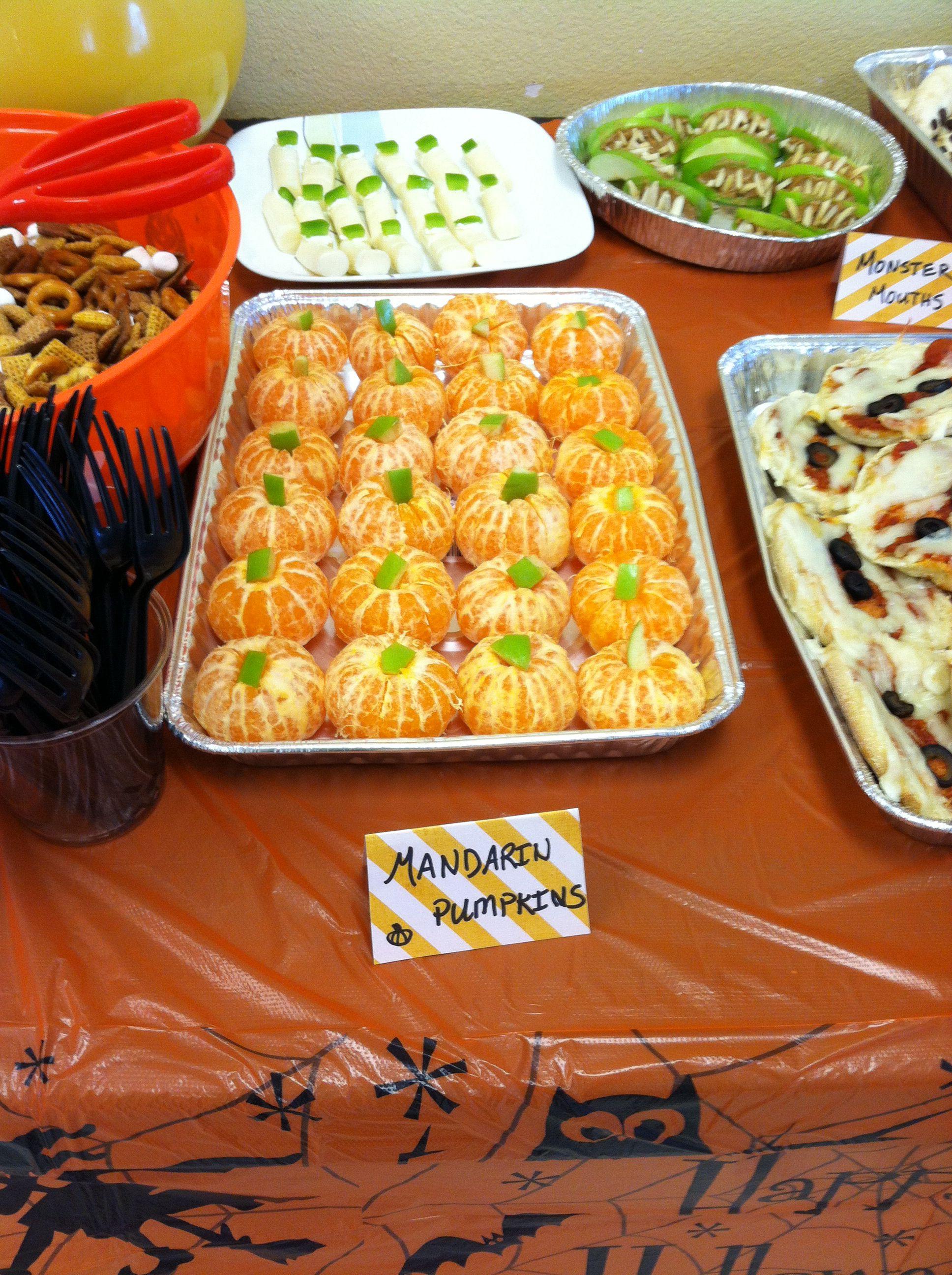 Mandarin pumpkins