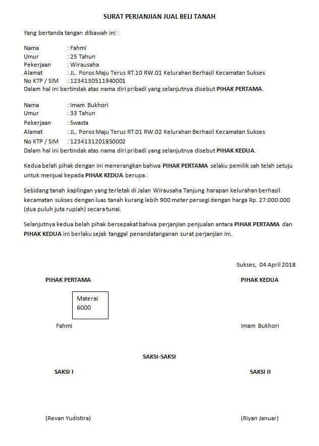 Jual Beli Tanah Kredit (With images) | Informative, Image ...