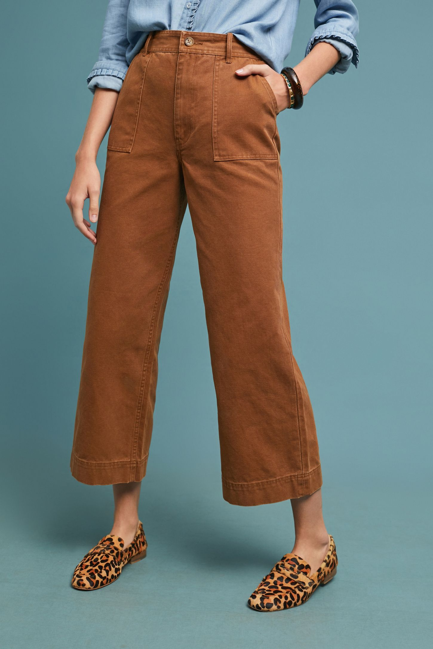 8fce26753b2c Slide View  3  Frye Nadia High-Rise Wide-Leg Jeans