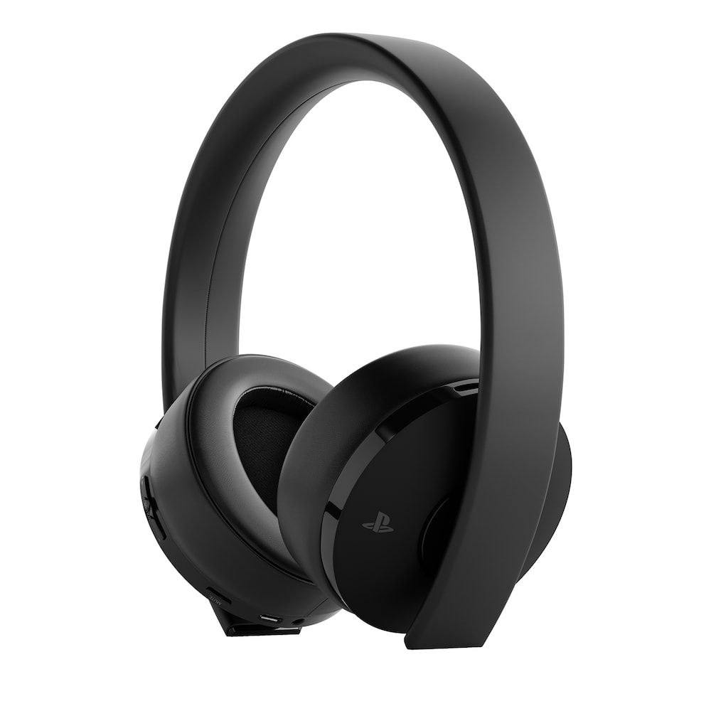 Sony Ps4 Gold Wireless Headset Headset Wireless Headset Gaming Headset