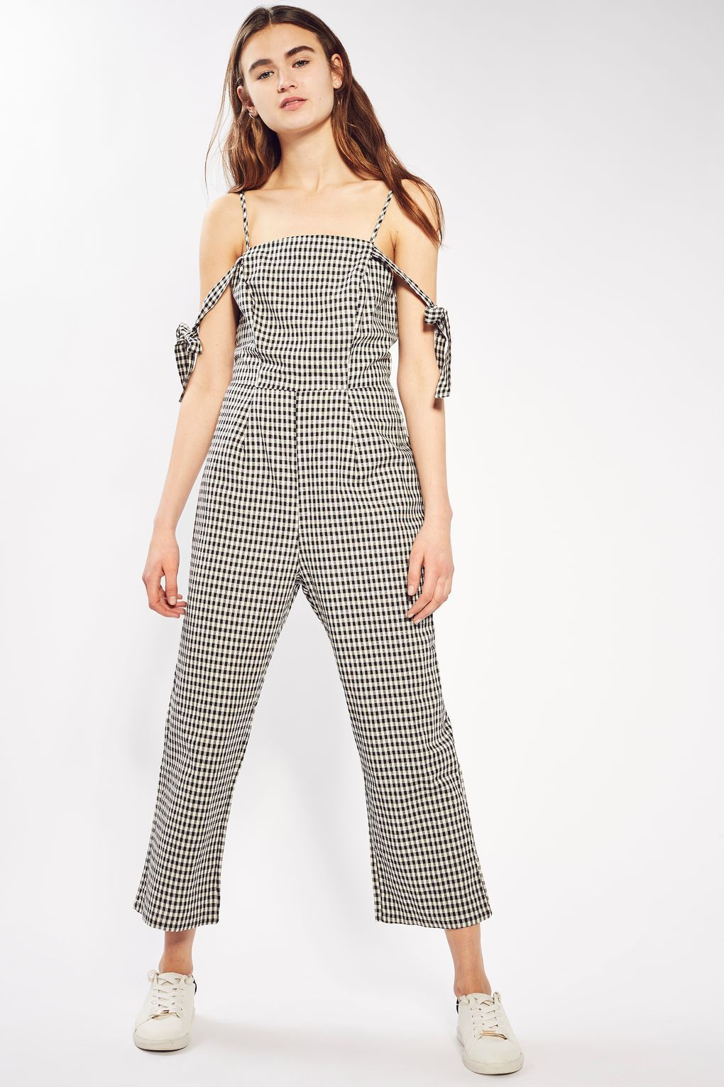 00f19e5949   Gingham Check Jumpsuit by Glamorous - Playsuits   Jumpsuits - Clothing
