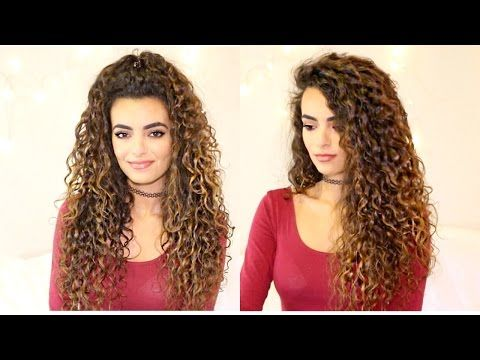 Curly Hairstyles For A Semi Bad Hair Day Itsrimi