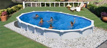 Zwembad ingegraven zwembad en spa sfeer foto 39 s for Goedkoop inbouw zwembad