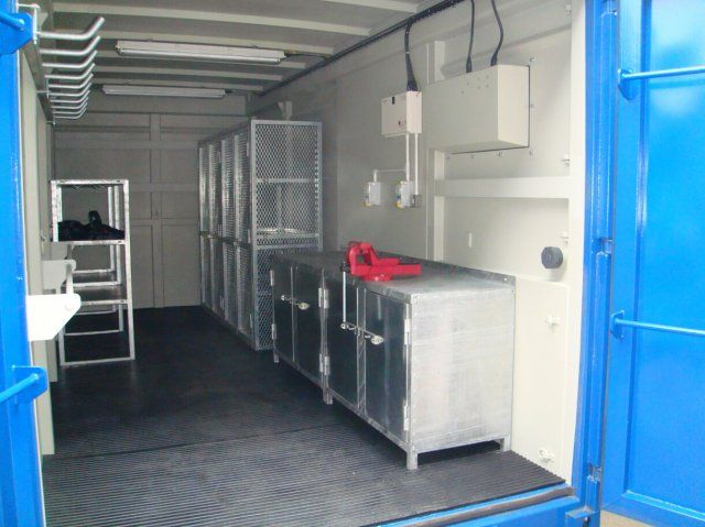 20 X 8 Workshop Container Container Shop Shipping