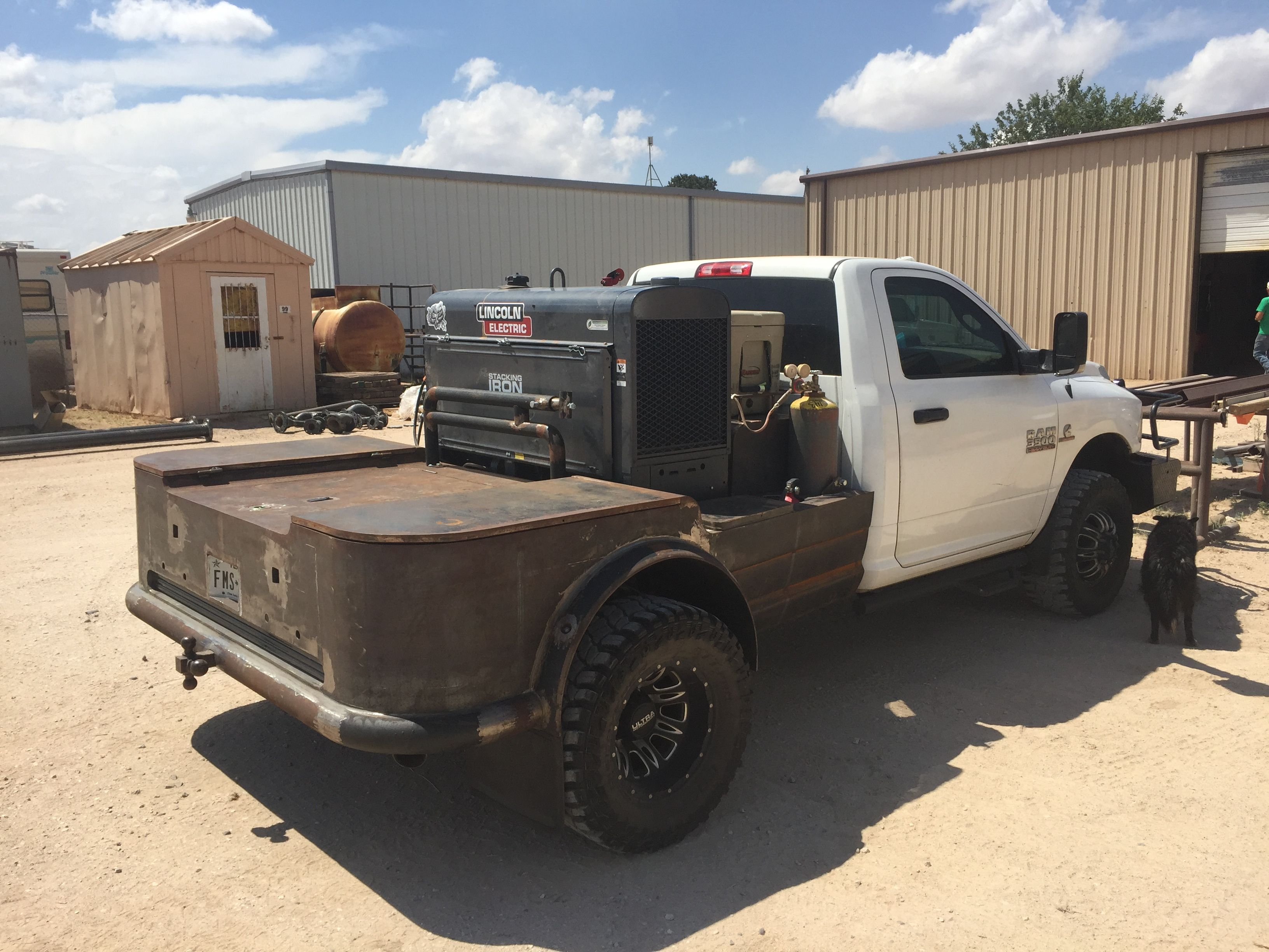 Pin by Vince Griffith on West Texas Rig Welder Custom