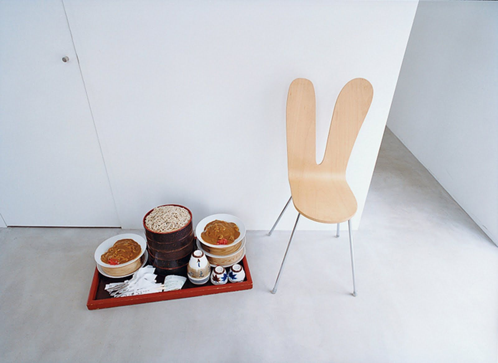 SANAA / Moriyama House / Tiny Model Sejima Chair / Perfection