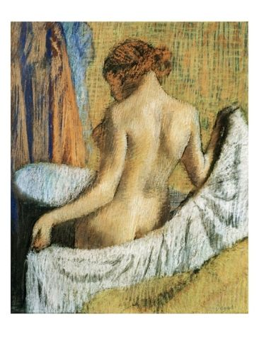 Degas After The Bath The Art Forger