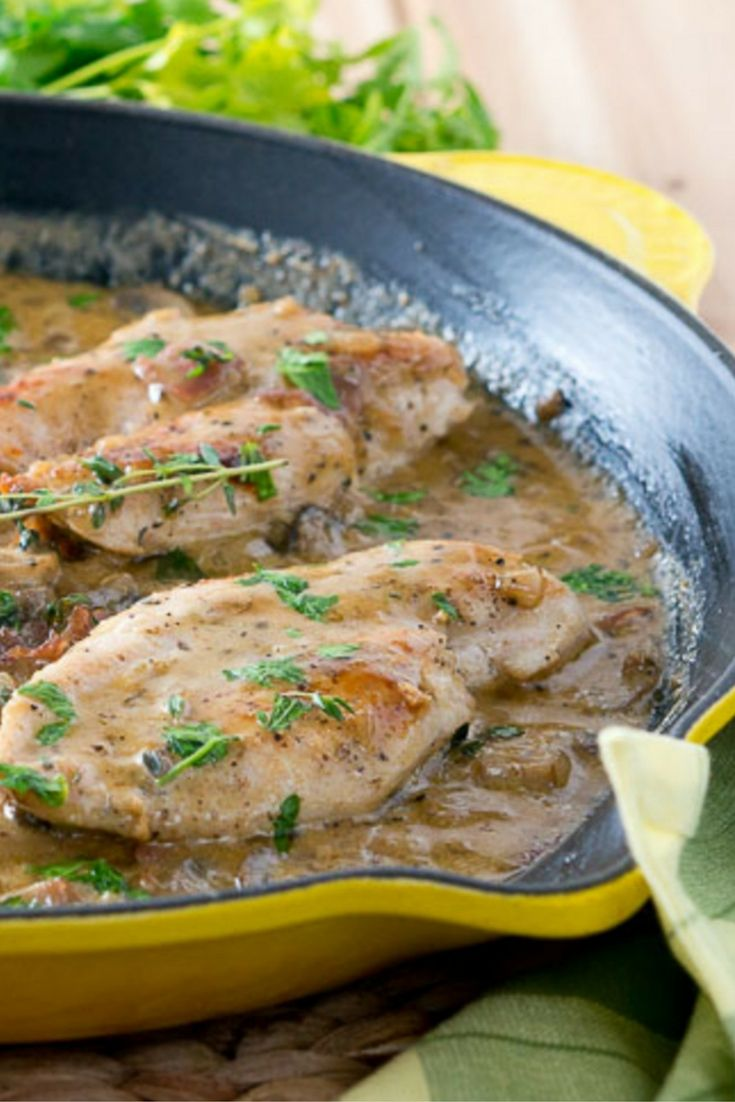 One-pan chicken Marsala: Deliciously decadent and creamy, this one-pan chicken Marsala is perfect for busy nights.