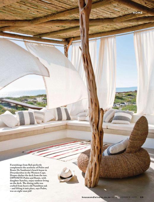 Beach House Terrazza Arredamento Design Del Prodotto Case Estive