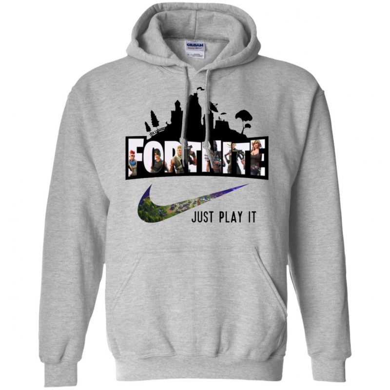 fe6fe814f5d5 Nike Fortnite Just Play It Hoodie - Shop Freeship US Clothing