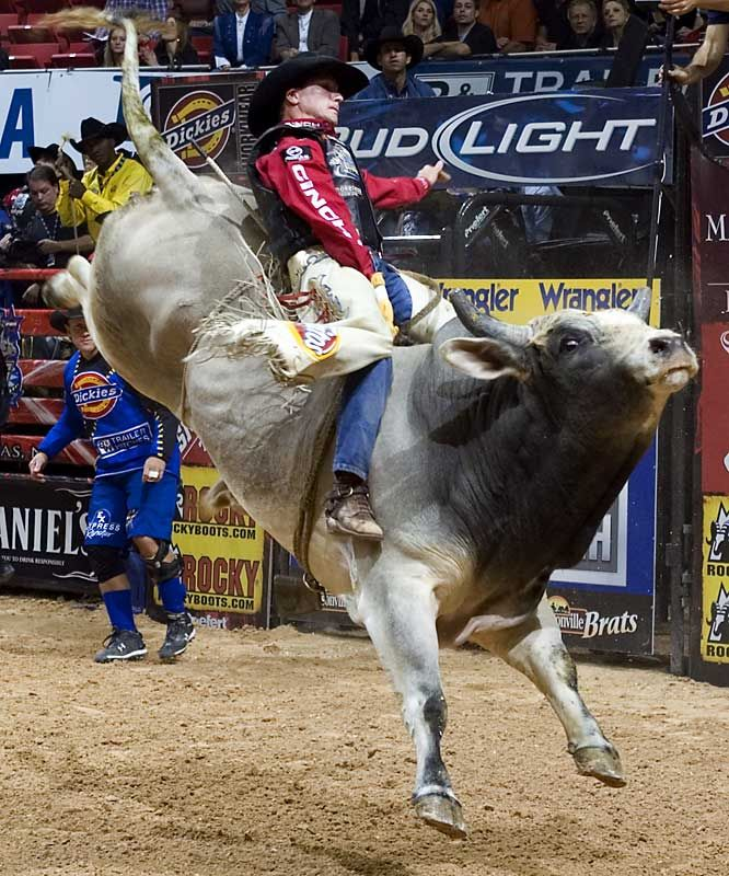 Justin McBride Professional Bull Riders World ... Justin Mcbride Riding