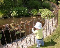 Der Gartenteich Zaun Mit Seiner Endhohe Von 100 Cm Hat Bietet Keine