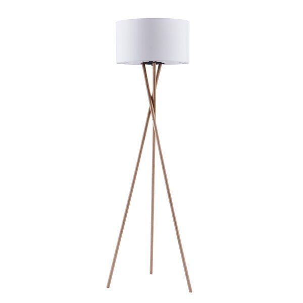 Kennerson 61 Quot Tripod Floor Lamp Floor Lamp Contemporary