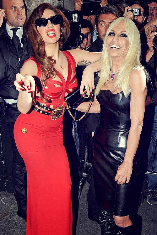 Is This Lady Gaga Meeting Up With Her Long Lost Mother No It S